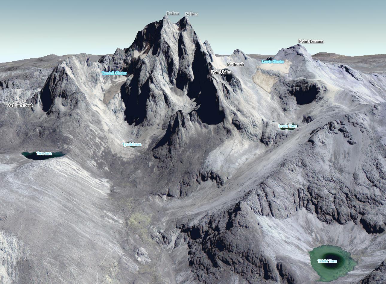 Mount Kenia Karte.Av Map